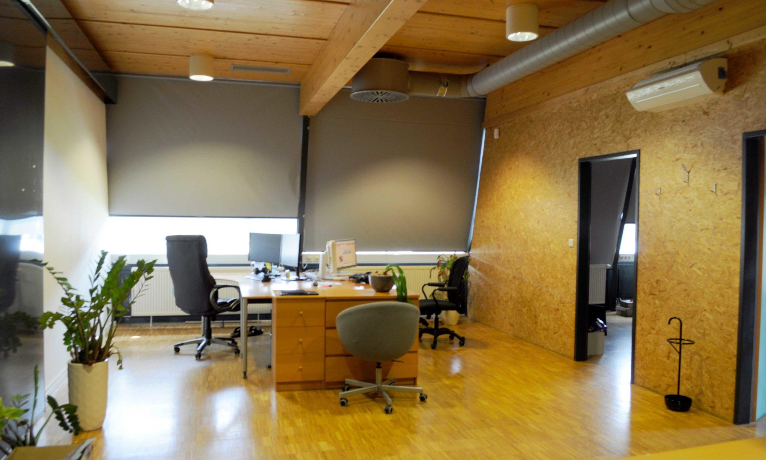 Möbliertes Büro im Forschungshaus