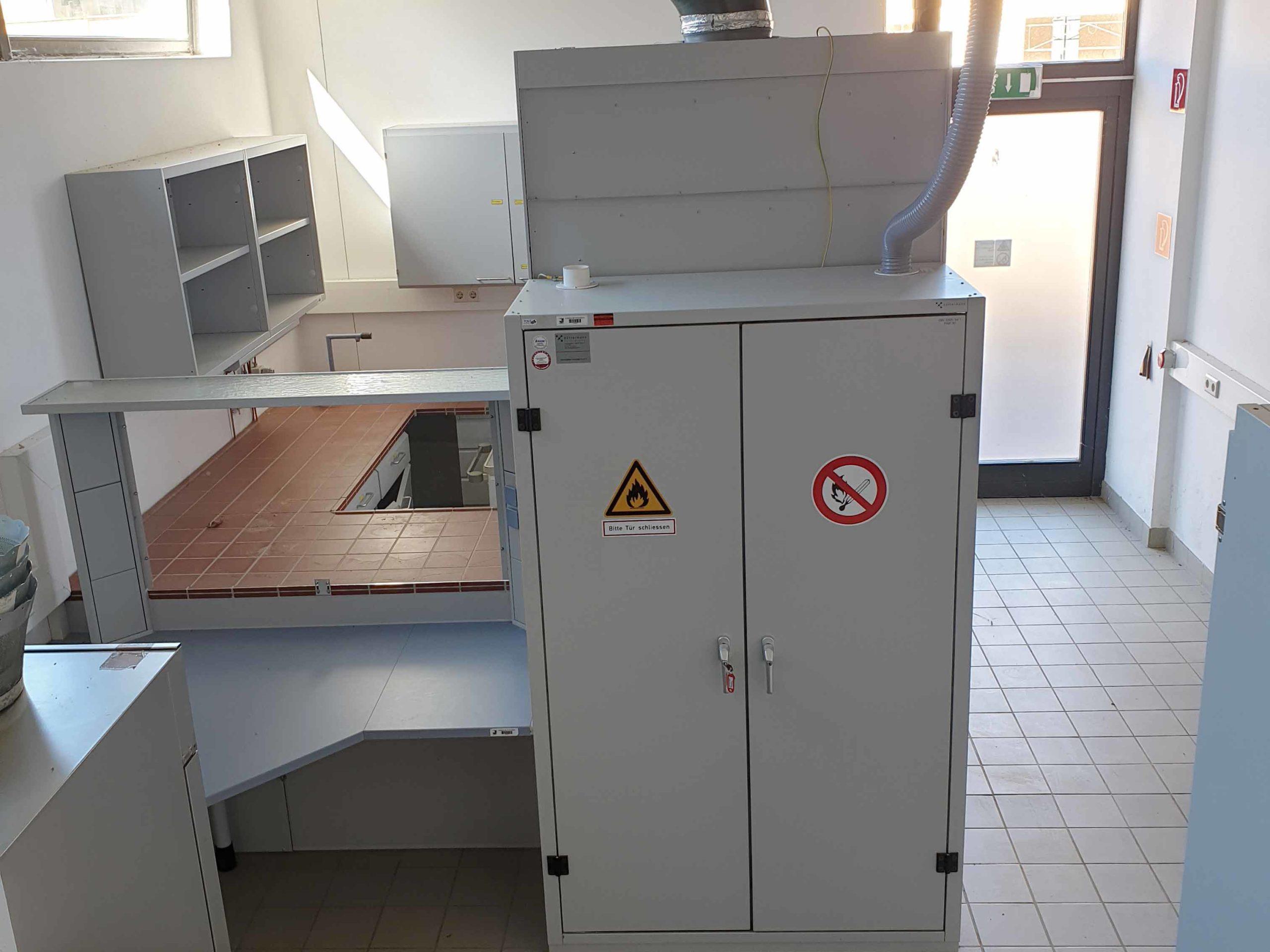 Laborausstattung Forschungshaus am Ökopark Hartberg
