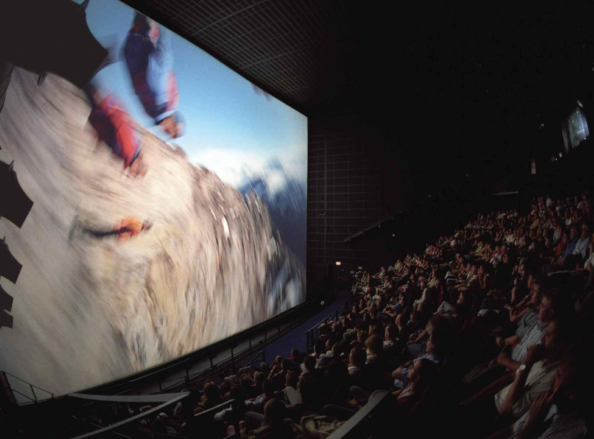 Großer Kinosaal Maxoom bei einer Veranstaltung
