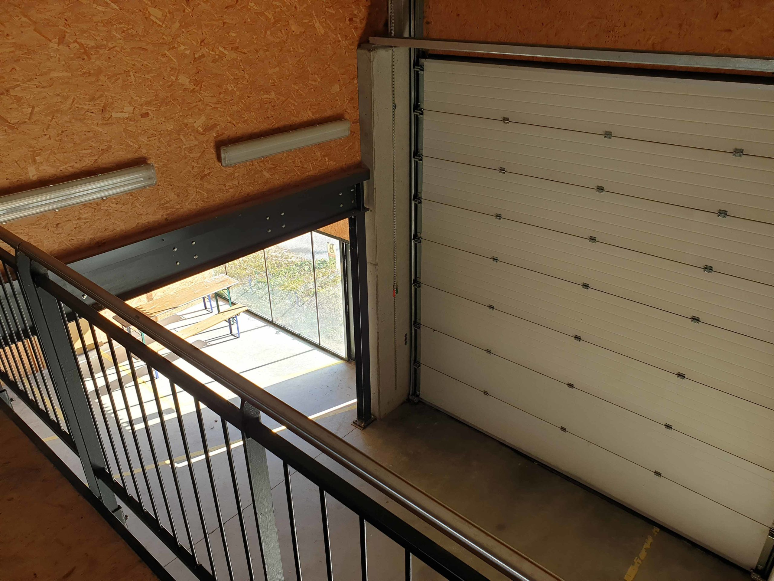 Rolltor Solarhalle Ökopark Hartberg