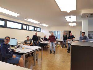 Team Molin neue Büro Ökopark