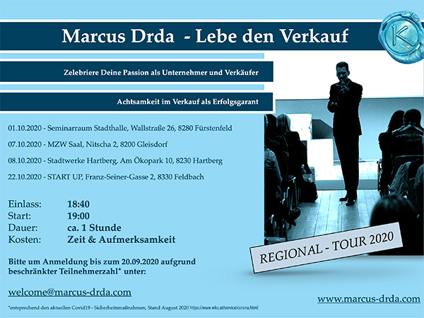 Markus Drda - Lebe den Verkauf