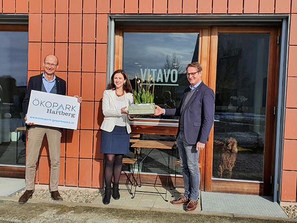 neuer Mieter am Ökopark Hartberg Vitavo