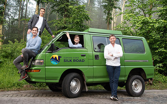 "Multimediashow ""Seidenstraße - Europe goes Silk Road"""