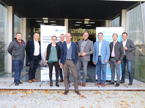 Pressefoto Förderprojekt Start-ups Stadtwerke Hartberg